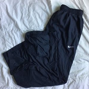 Nike lined track pants XL
